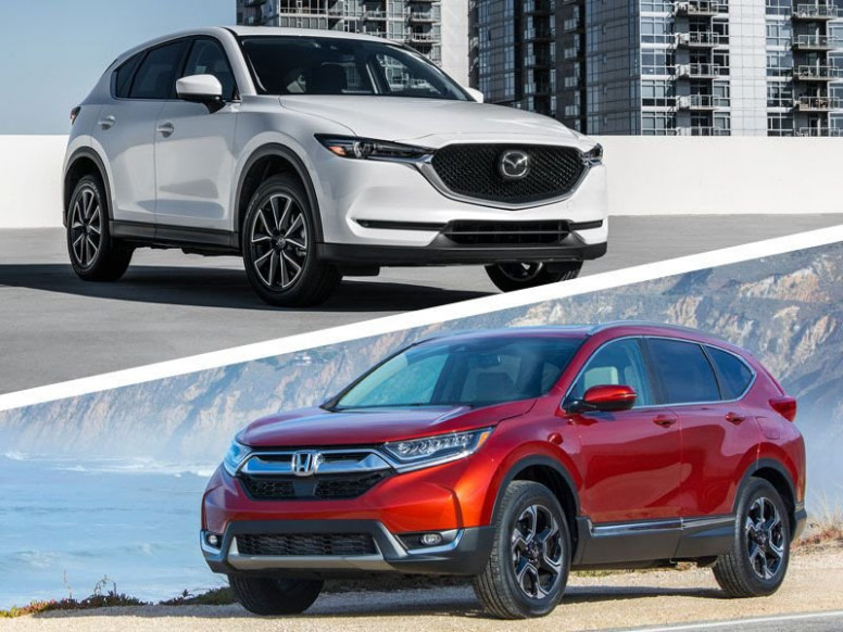 honda cr v vs mazda cx 5 2019 deals - suvs the best gas