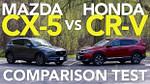 New 12 Mazda CX-12 vs 12 Honda CR-V Comparison Test Model