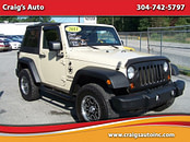 2006 Jeep Wrangler Se 4.0 L Automatic Suv