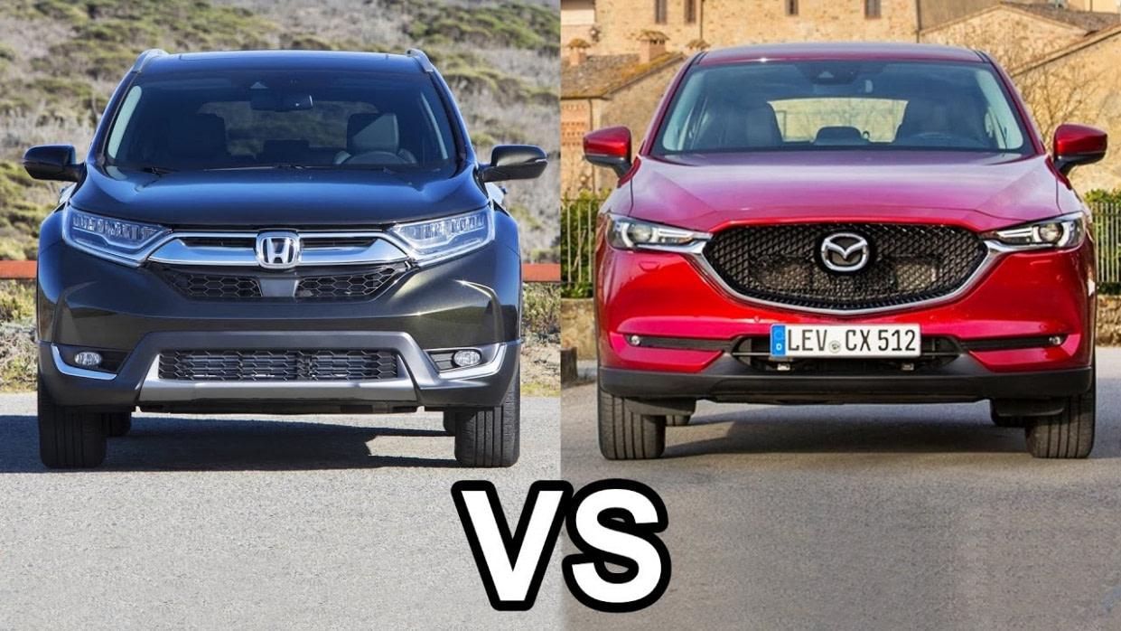12 Honda CR V Vs 12 Mazda CX 12 - Honda Cr V Vs Mazda Cx 5 2019