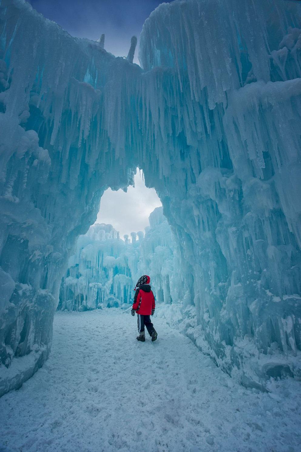 Ice Castles In Lincoln, NH Open Fri Sun, Tix Are $10  Ice Castles  - Things To Do In Lincoln Nh In Winter